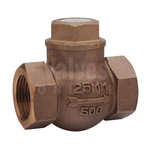 Bronze PN32 Screwed Horizontal Lift Check Valve