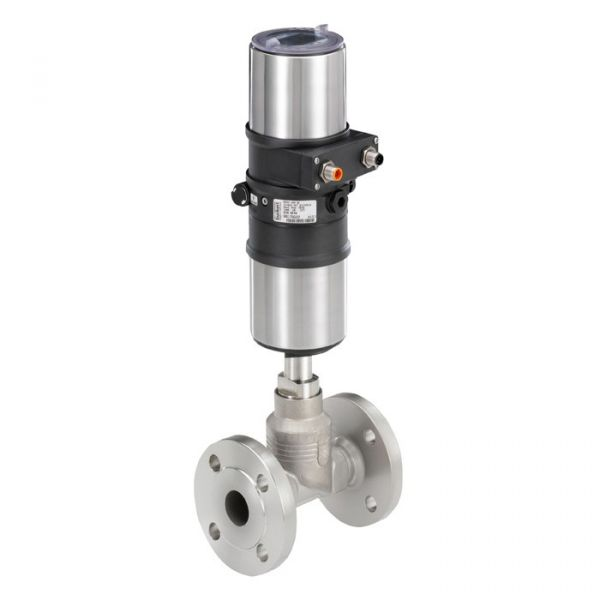 Burkert Type 8802 Flanged Globe Continuous Control Valve System