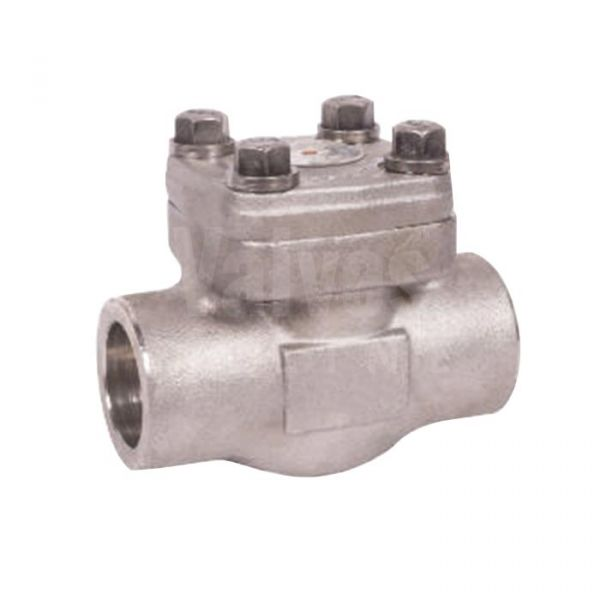Class 800 Forged Stainless Steel 316L Piston Check Valve