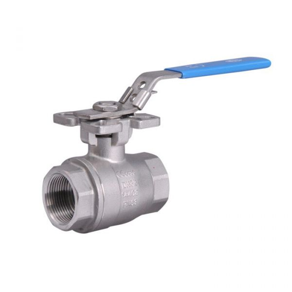 Stainless Steel Ball Valve Full Bore Heavy Duty Direct Mount