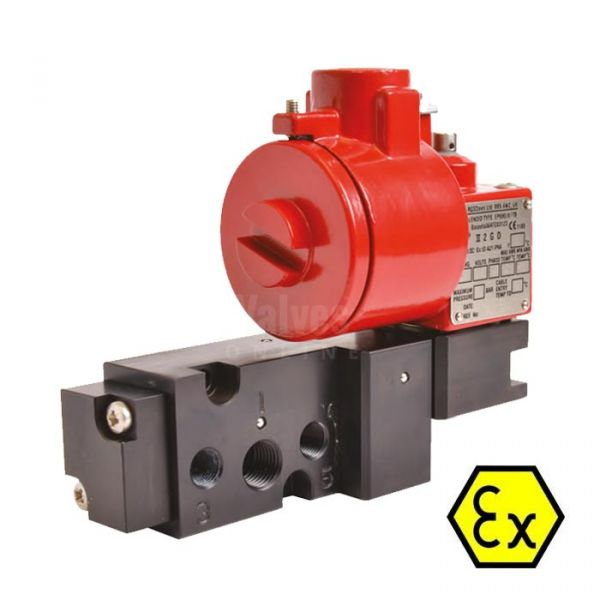 Namur Pilot Solenoid Valve ATEX Approved Exd Rated