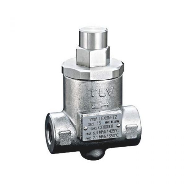 TLV LEX3N Stainless Steel Thermostatic Temperature Control Steam Trap