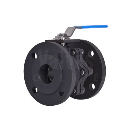 Carbon Steel Ball Valve Flanged PN16 with TFM4215 Seats