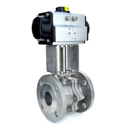 Economy Air Operated Flanged PN16 and ANSI 150 Steam Ball Valve