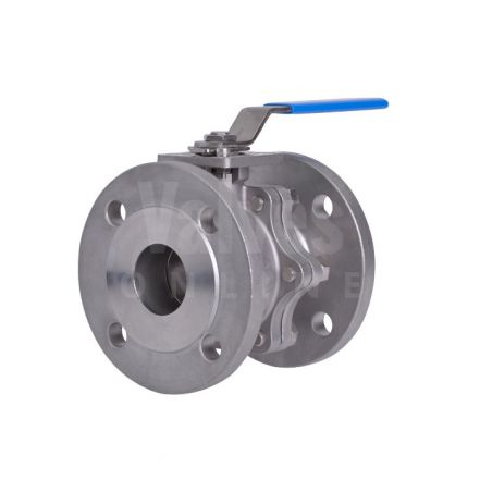 High Temperature Direct Mount Flanged PN16 Steam Ball Valve