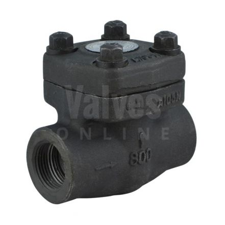 Class 800 Forged Steel Piston Check Valve