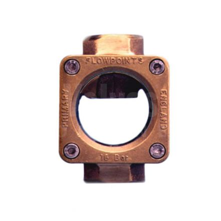 Gunmetal 'Style GP' Straight Through Flow Indicator