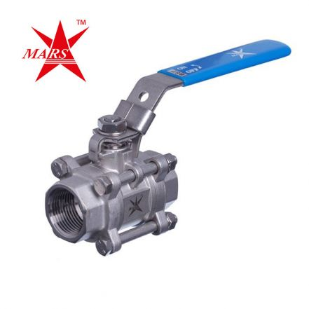 Mars Series 50 Steam Isolation Ball Valve in Stainless Steel