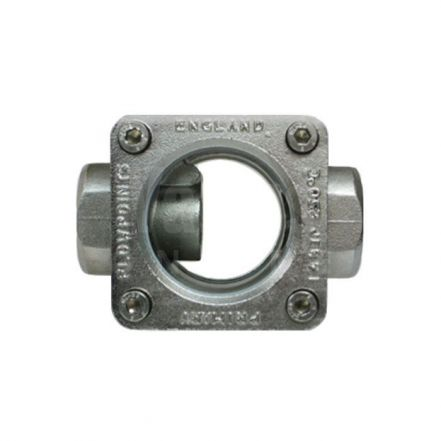 Stainless Steel Type P Straight Through Flow Indicator for Steam