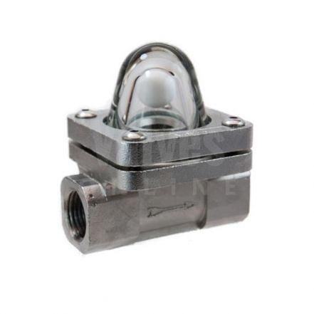 Stainless Steel 'Vista Style' Ball type Flow Indicators