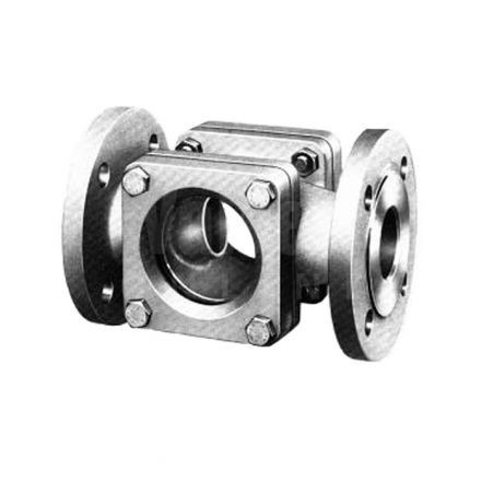 TLV SG18 Flanged Stainless Steel Double Window Sight Glass