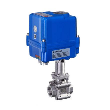 Electric Actuated High Temperature Ball Valve