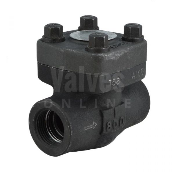 Class 800 Forged Steel Swing Check Valve