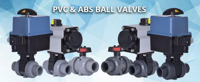 PVC-U & ABS Ball Valves