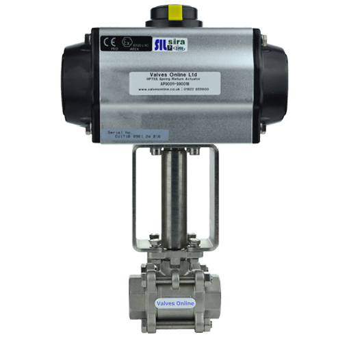 Economy Actuated Steam Ball Valve
