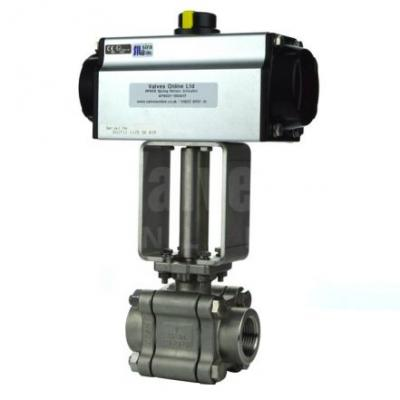 Actuated Ball Valves Steam Select