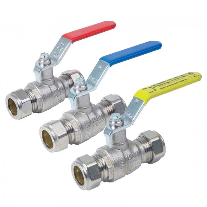 Brass Ball Valve Compression