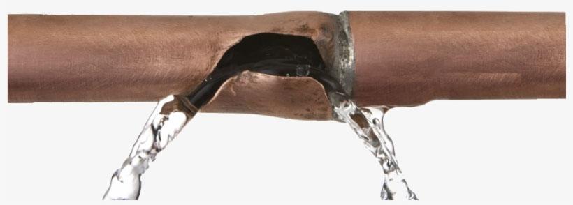 Damaged pipe