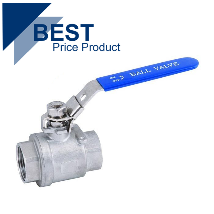Economy Stainless Steel 2 Piece Ball Valve