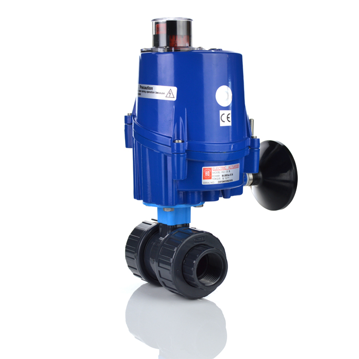 Economy Electric ON/OFF Actuated PVC Ball Valve