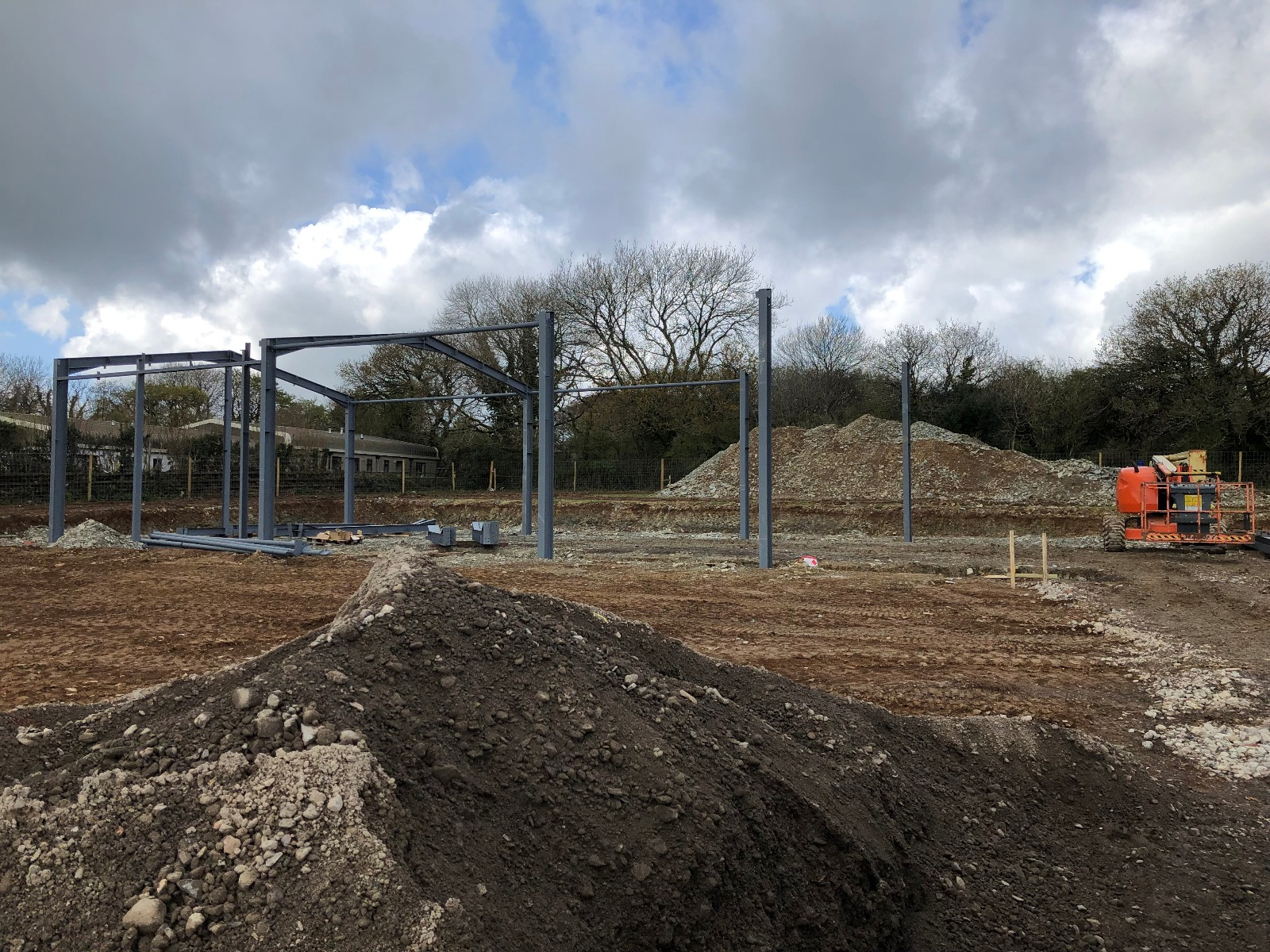 steel frame construction 2
