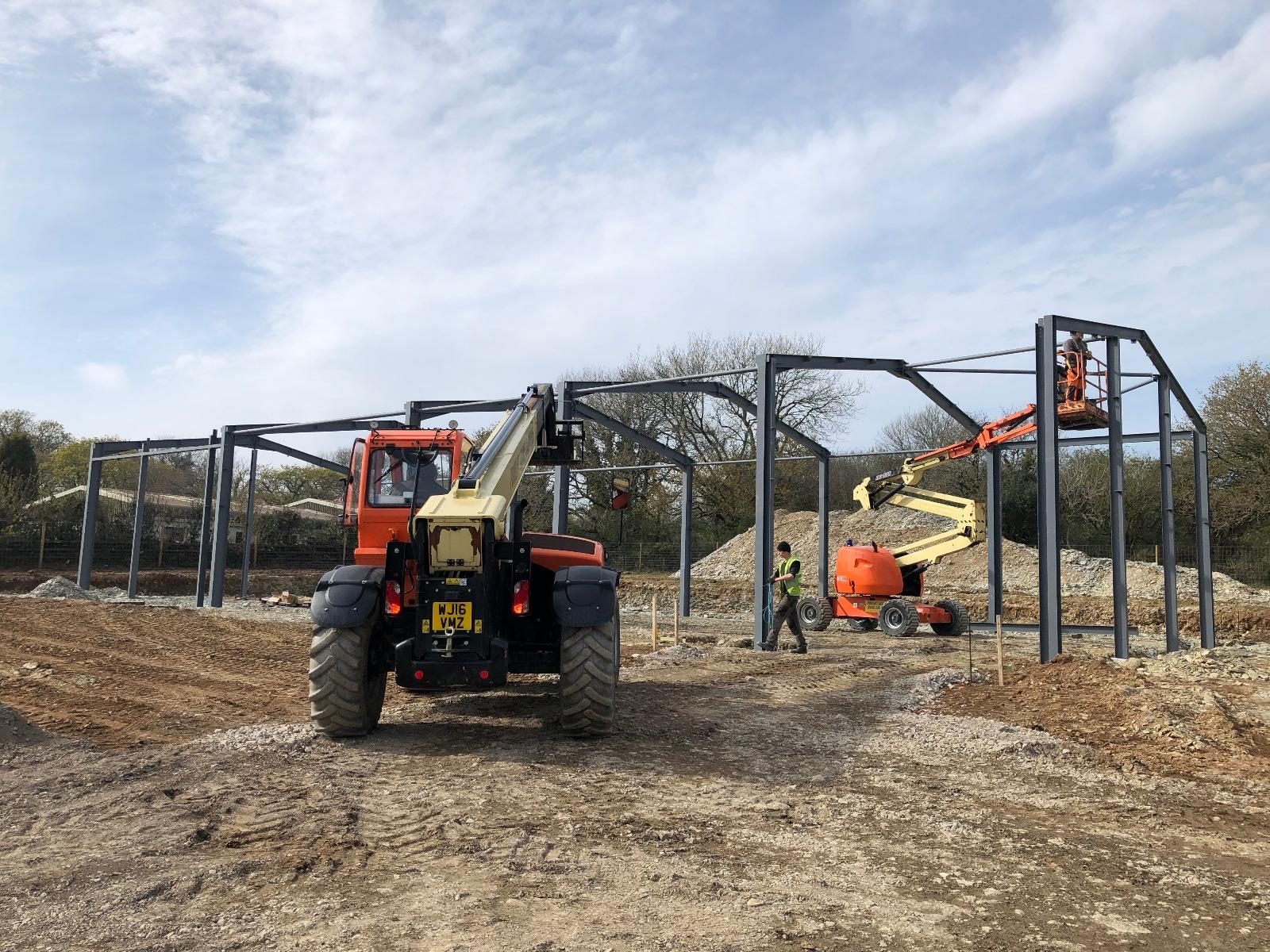 steel frame construction 3