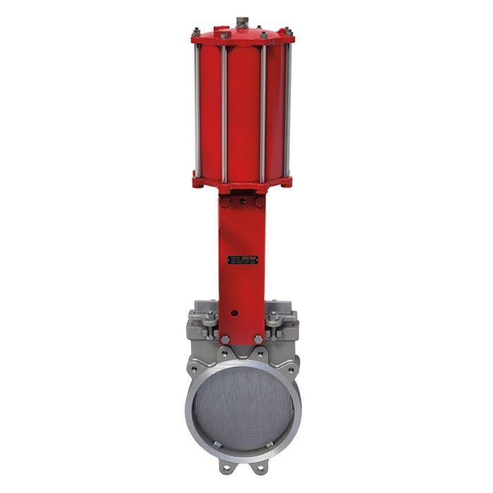 Pneumatic Operated Bray Wafer PN10 Uni-Directional Knife Gate Valve