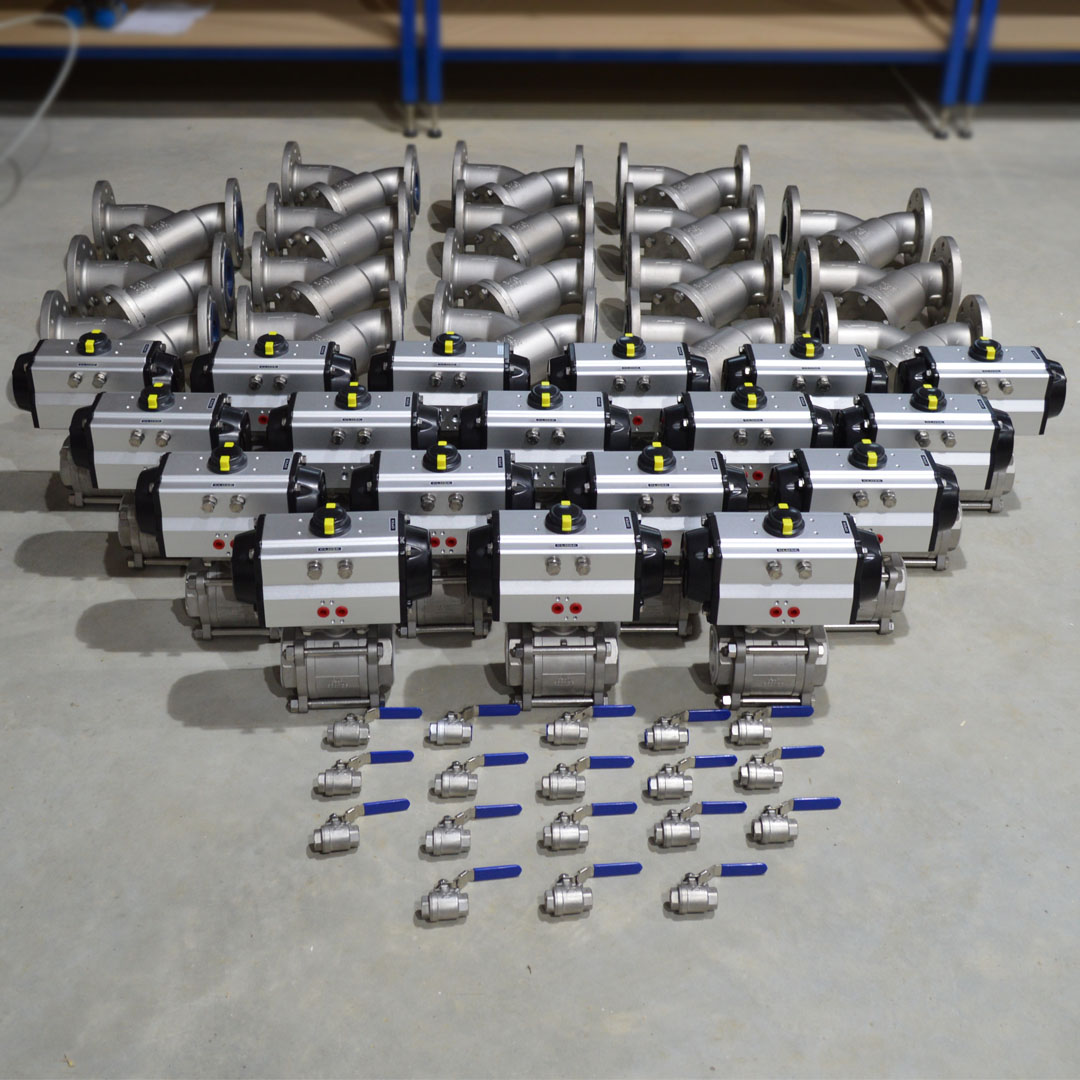 Actuated Valves and strainers