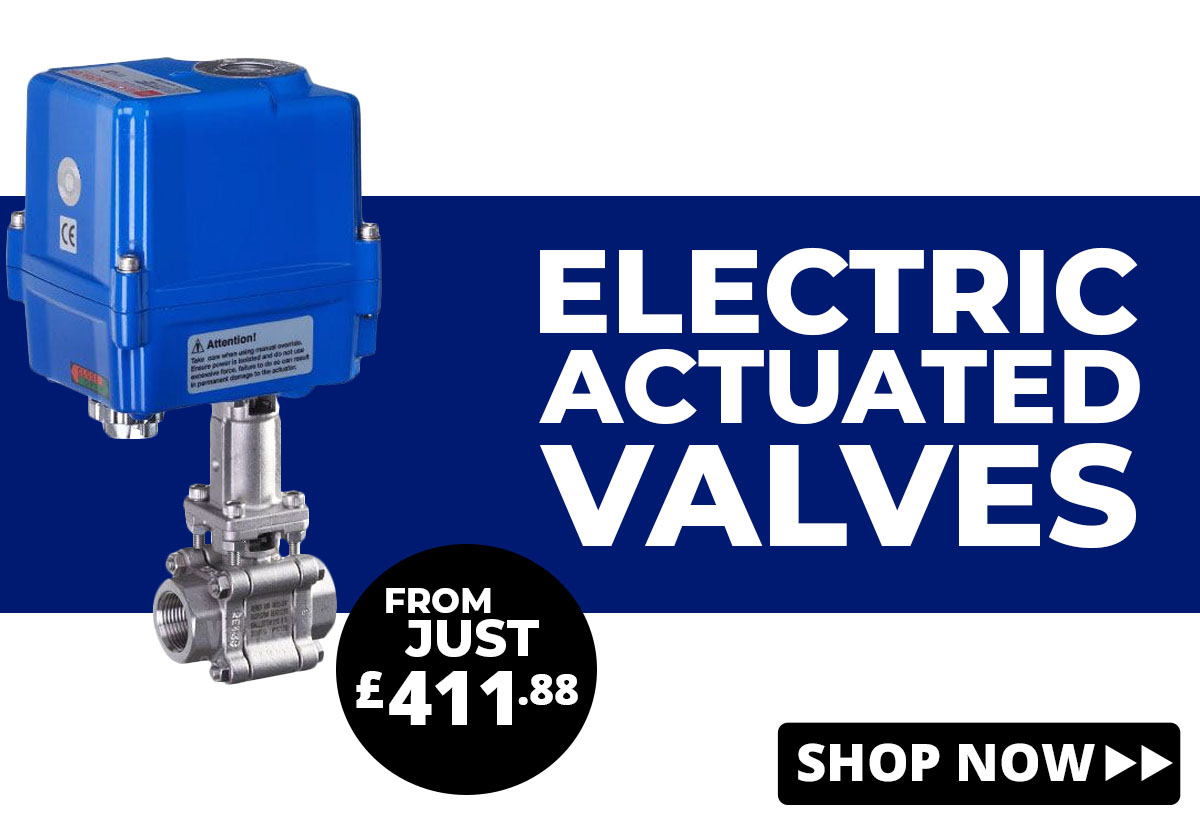 Shop Electric Actuated Valves
