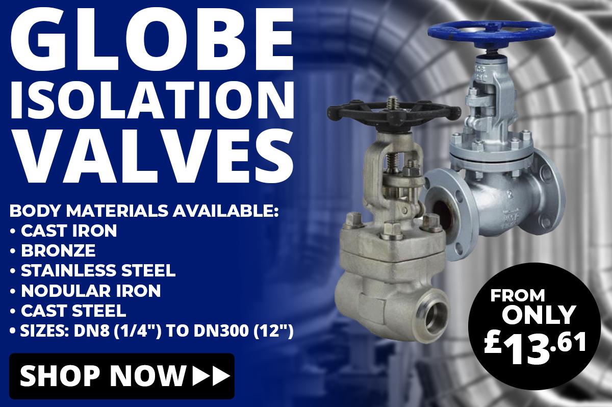 Shop Globe Isolation Valves