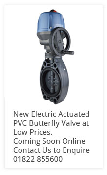 Electric PVC Butterfly Valve
