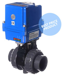 Actuated PVC Ball Valve